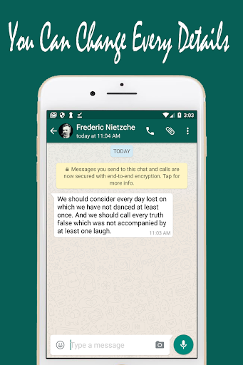 Download Whats Fake Chat Maker Create fake text message on.