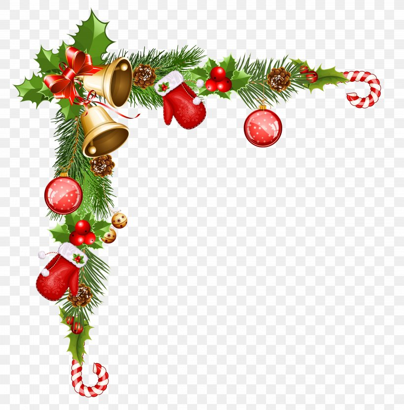 Christmas Ornament Santa Claus Clip Art, PNG, 5170x5246px.