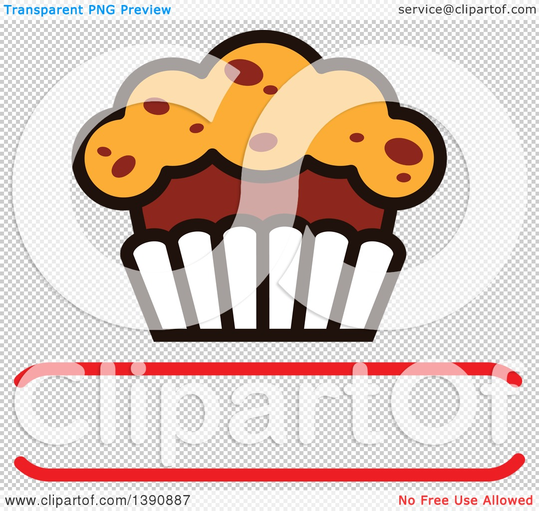 Clipart of a Cake Design with Text Space.