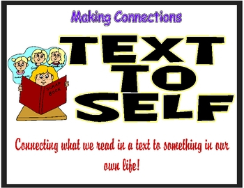 clip art Text to self.