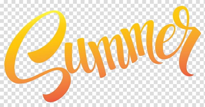 Summer , Sumer Text , orange summer text on blue background.