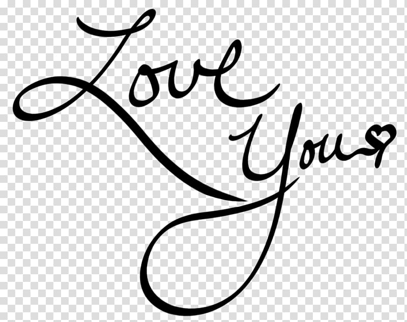 Love You text, Drawing Heart Love , rose tattoo transparent.