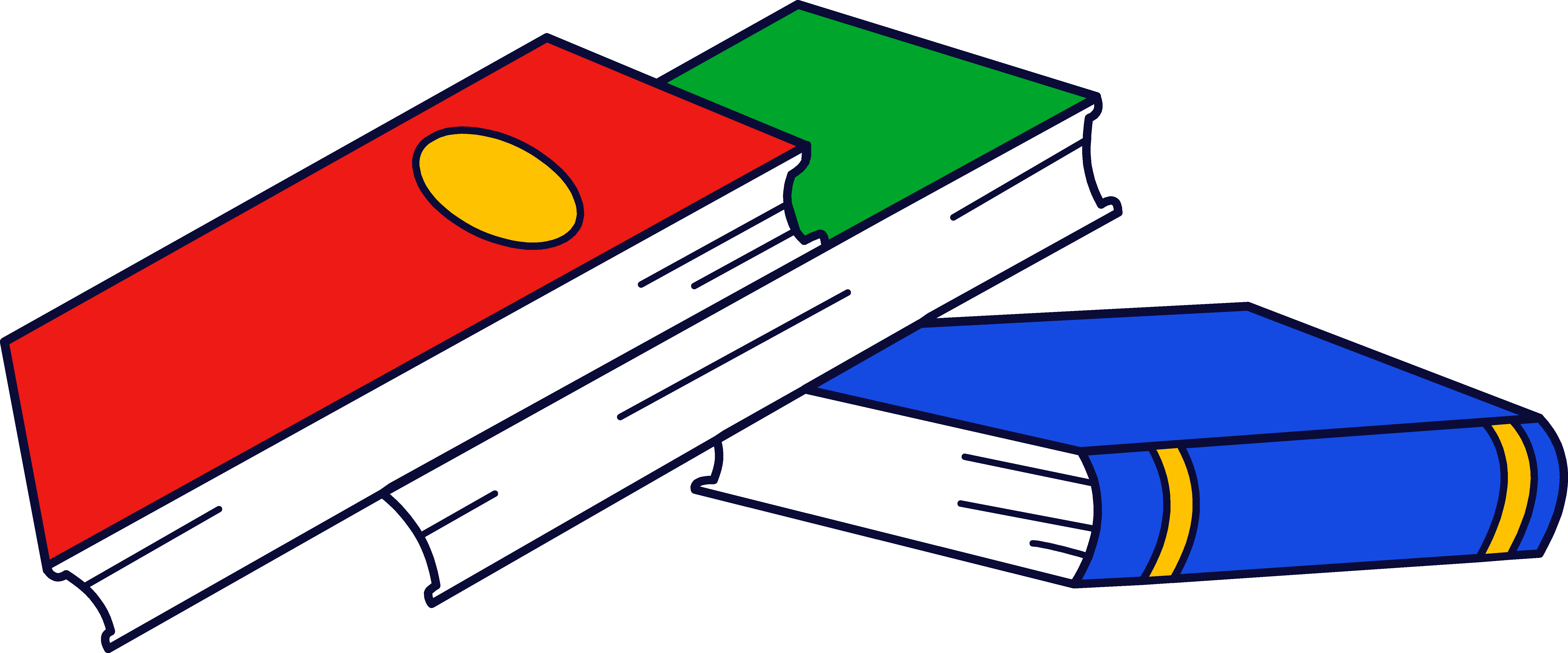 textbook clipart #stacked_books.