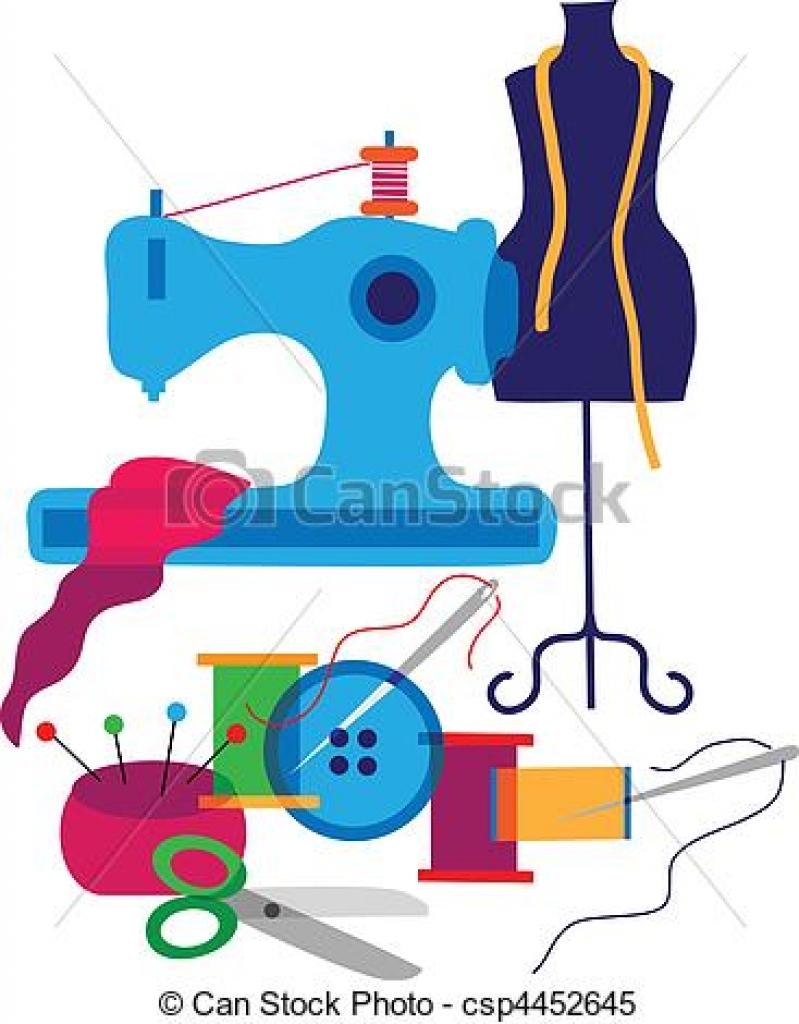 Free textile clipart.