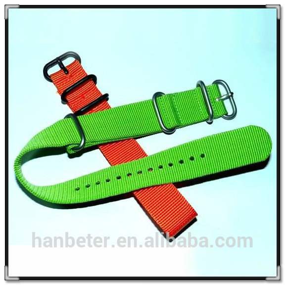 Pvd Buckle High Quality Fashion Nato Band Adjustable Custom.
