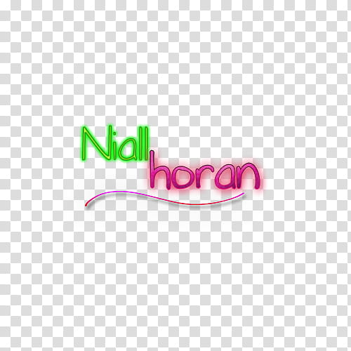 Texto de niall horan transparent background PNG clipart.