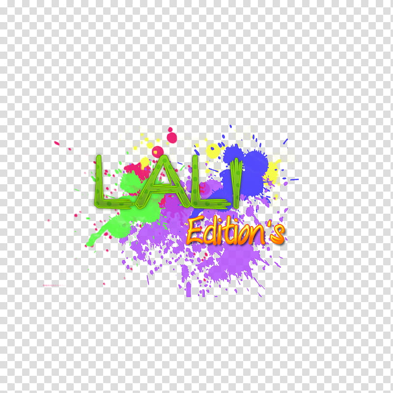 Lali Edition texto C transparent background PNG clipart.