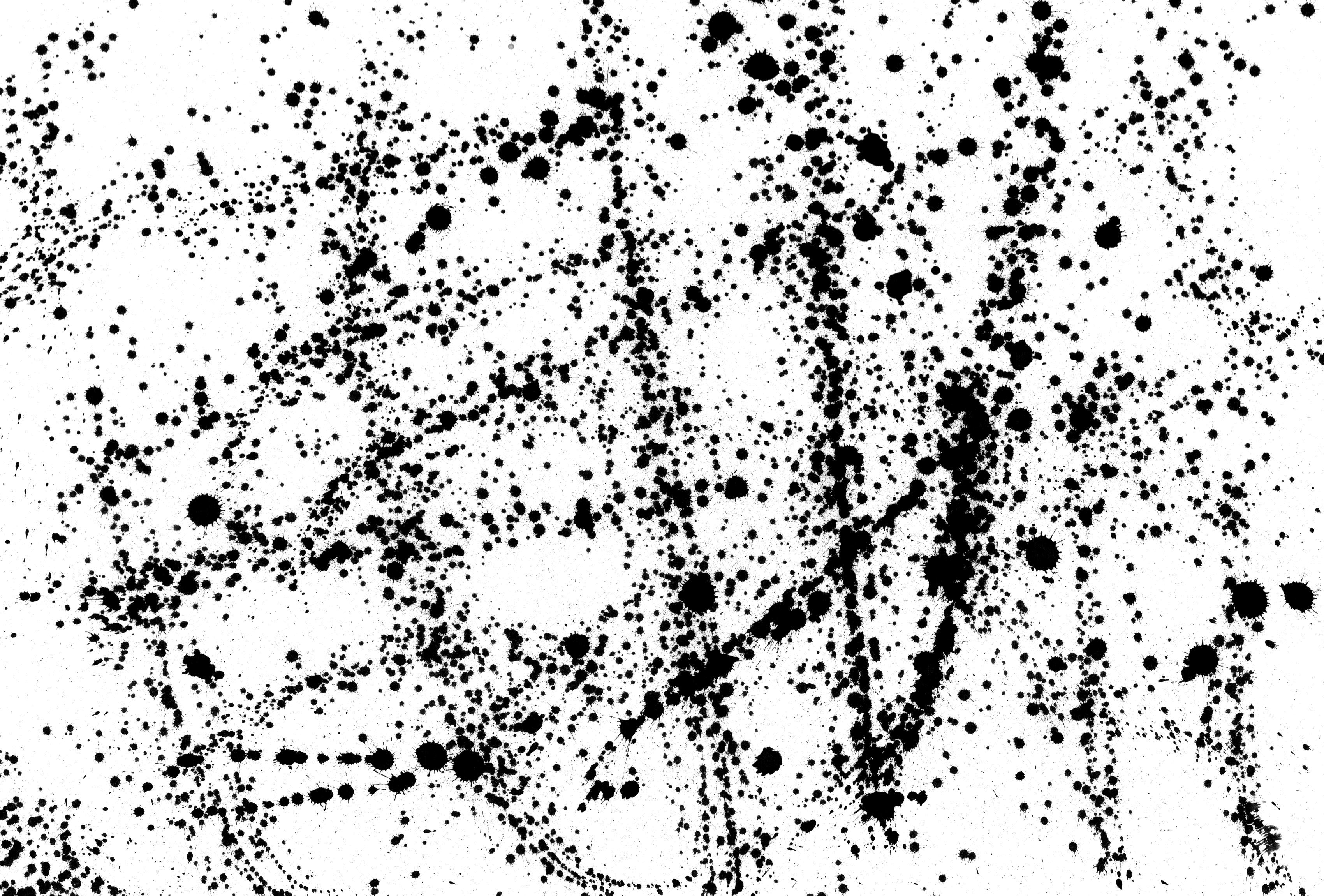 Ink Splatter Texture (PNG).