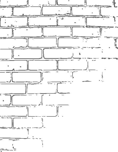 Textured brick clipart.