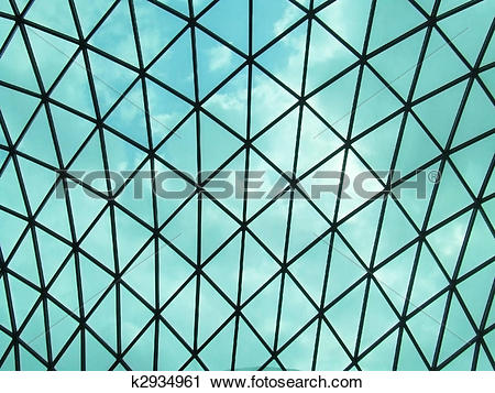 Stock Photography of glass dome by Norman Foster in the British.