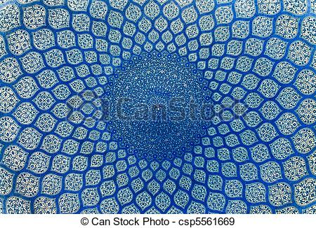 Stock Photographs of Dome of the mosque, oriental ornaments from.