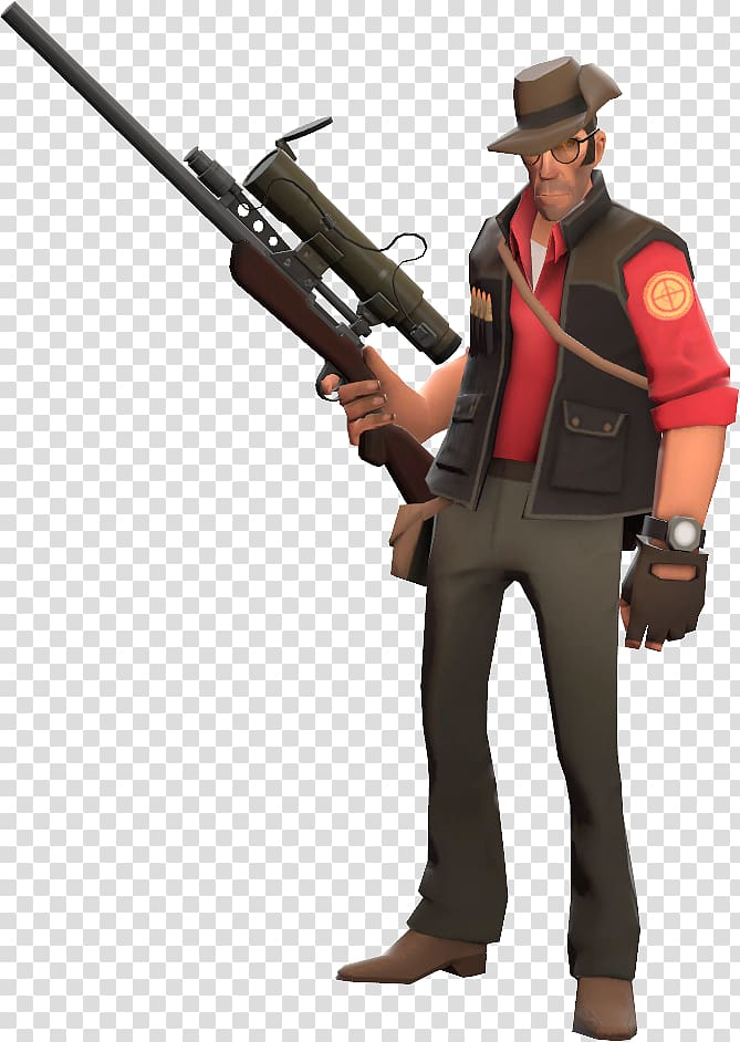 Team Fortress 2 Sniper Video game Loadout Minecraft.