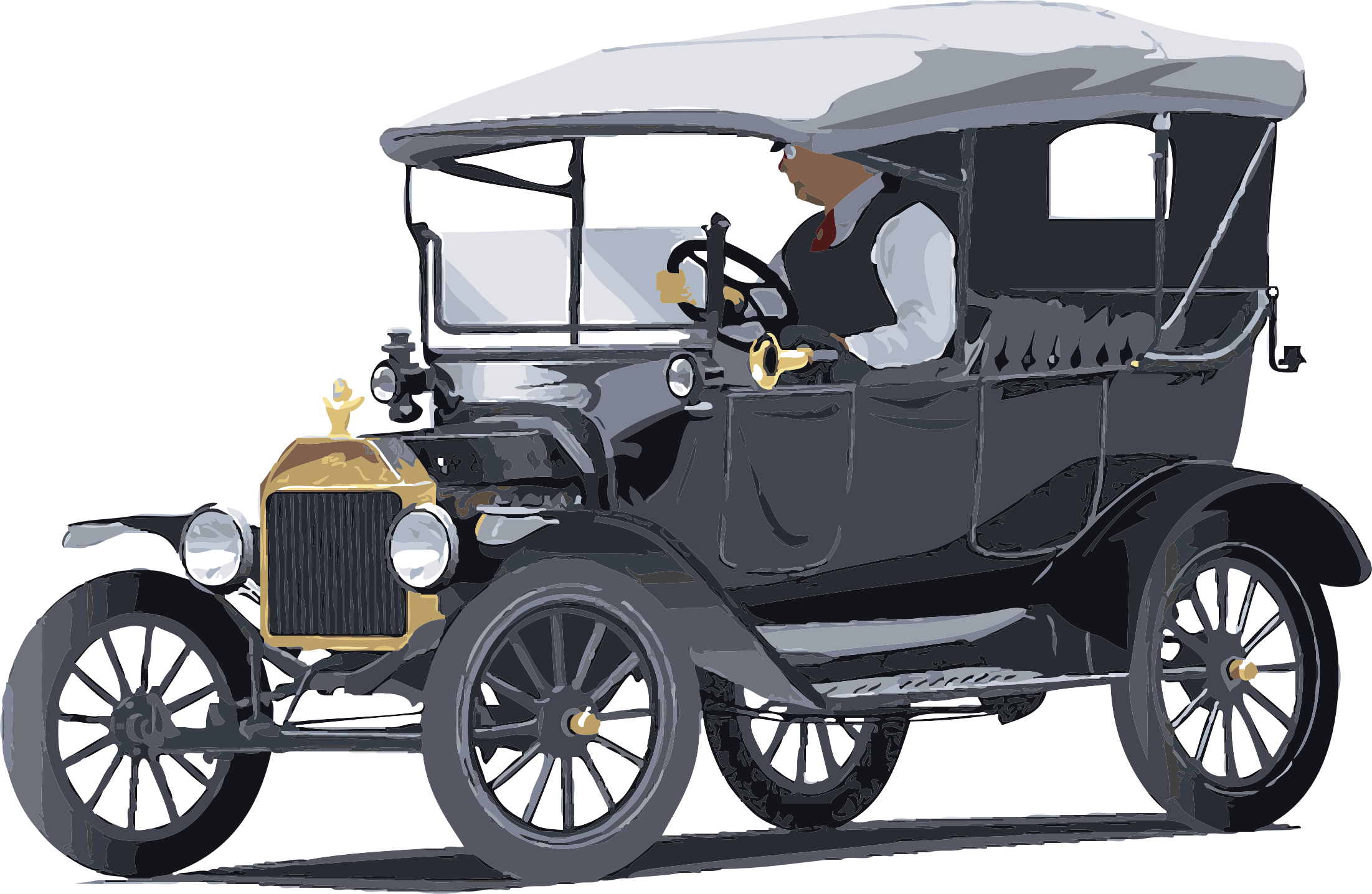 Model T Clipart.