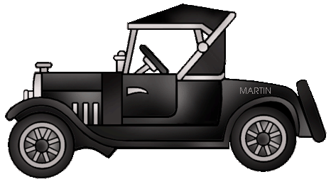 Clipart model t ford.
