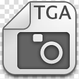 Albook extended , gray and black TGA folder icon transparent.