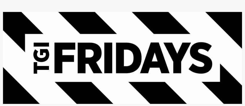 Tgi Fridays Logo Black And White.