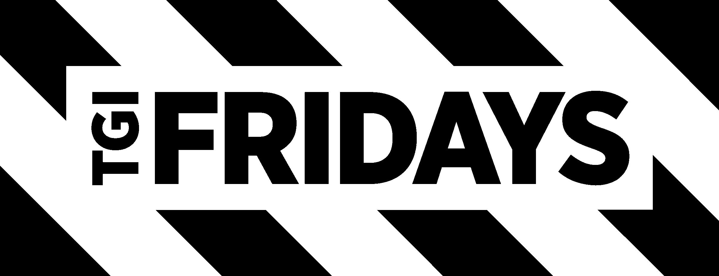 Download Tgi Fridays Logo Black And White.