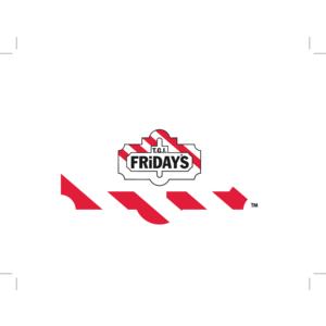 TGI Friday\'\'s logo, Vector Logo of TGI Friday\'\'s brand free.