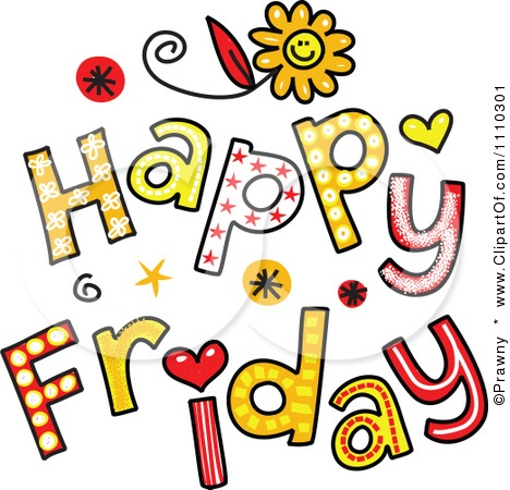 Collection of Tgif clipart.