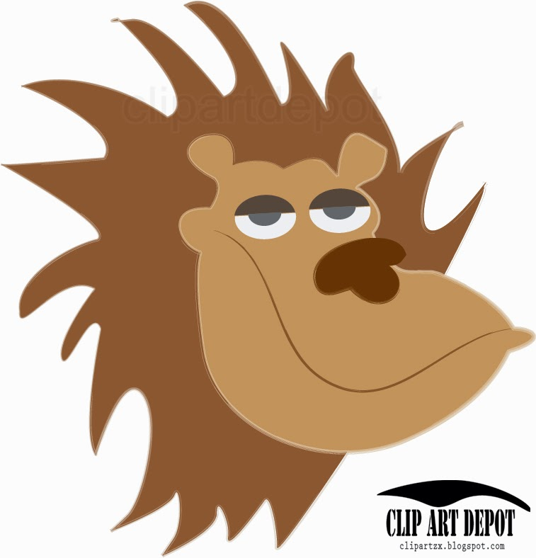 Lion Head Clipart.