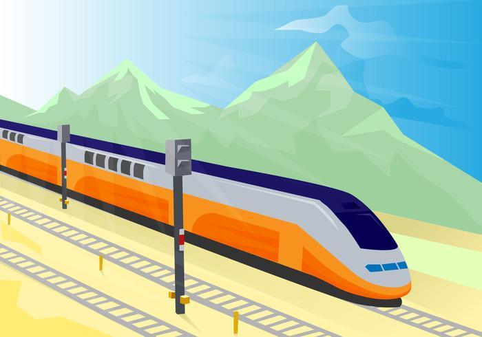 Free TGV Vector Illustration.