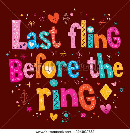 6+ Last Fling Before The Ring Clipart.