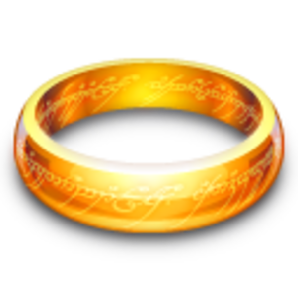 One ring clipart.