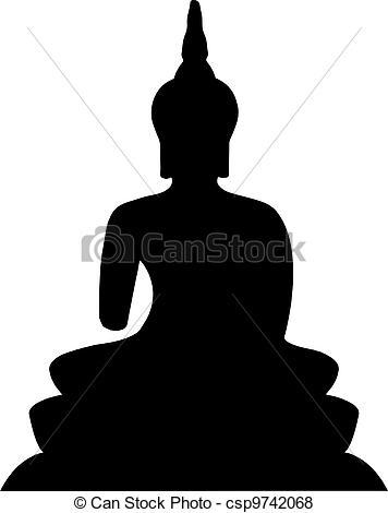 Vector of Thai Buddha..