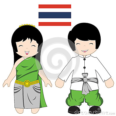 Traditional Thai Chinese Golden Empty Frame Royalty Free Stock.