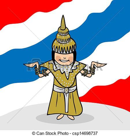 Thai clip art.
