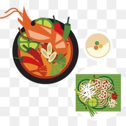 Thai Cuisine Png, Vectors, PSD, And Clip #110068.