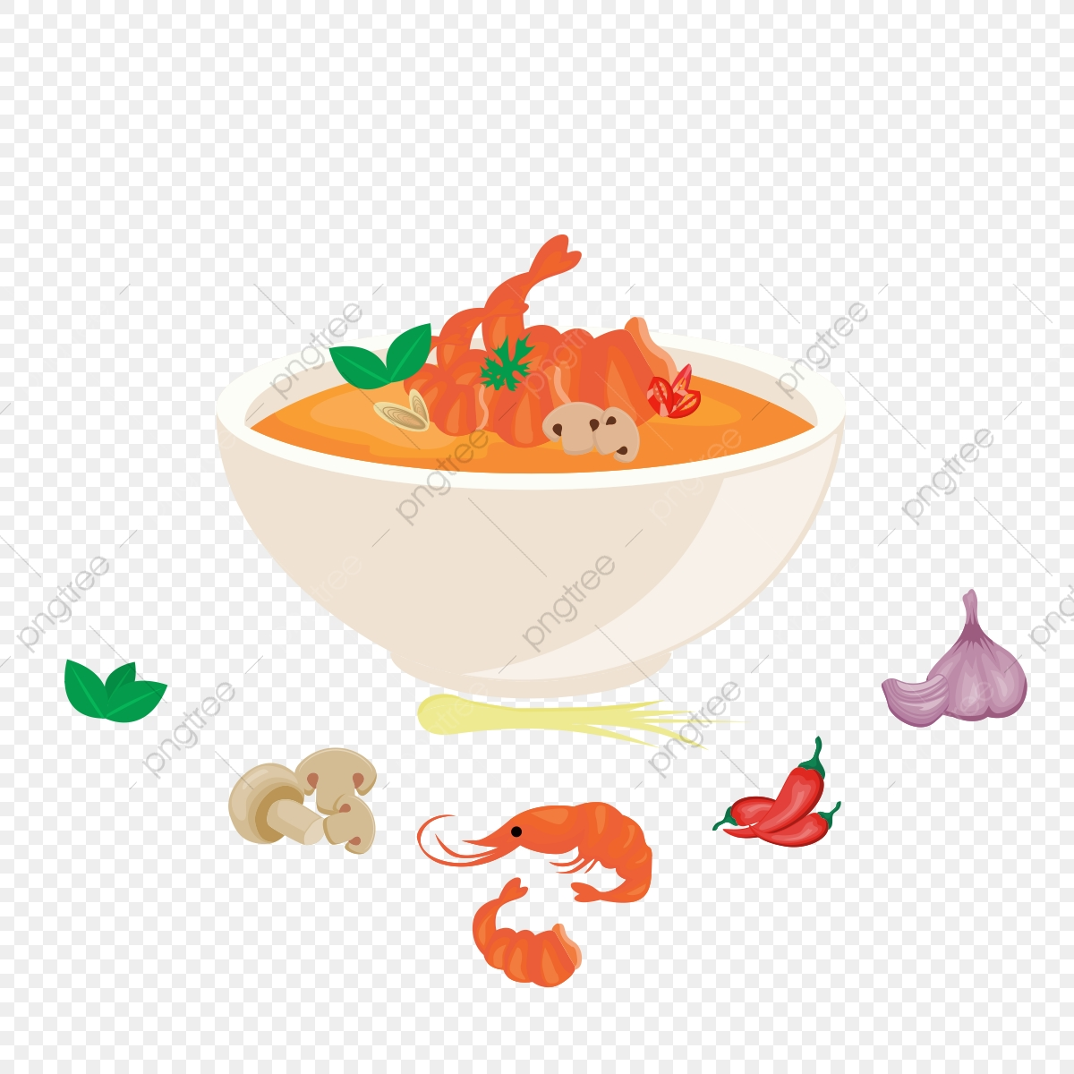 Thai Food Vector Design Illustration, Food, Thai, Thailand.