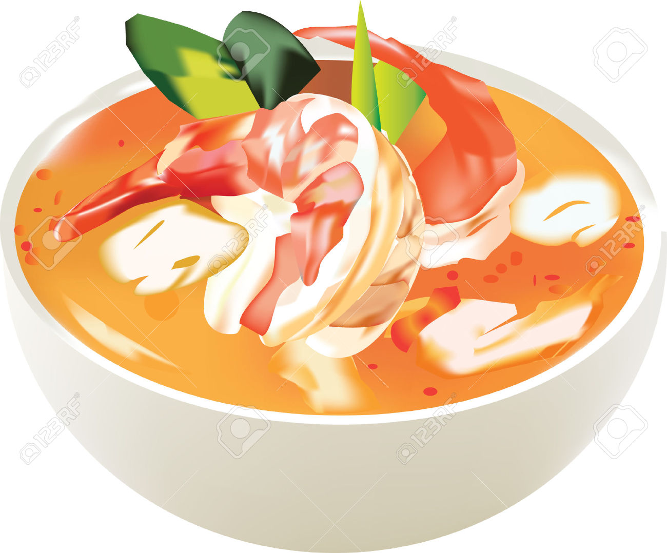 Thai food clipart 10 » Clipart Station.