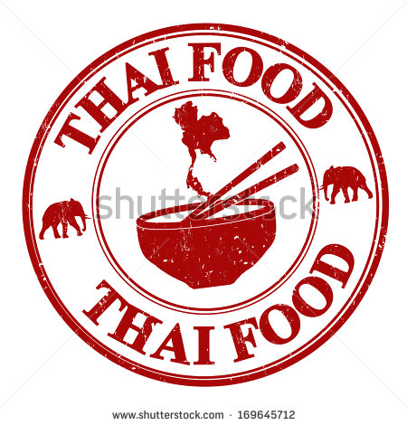 Thai Food Stock Images, Royalty.