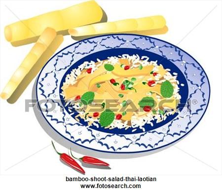 Thai Food Clipart.
