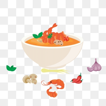 Thai Food PNG Images.