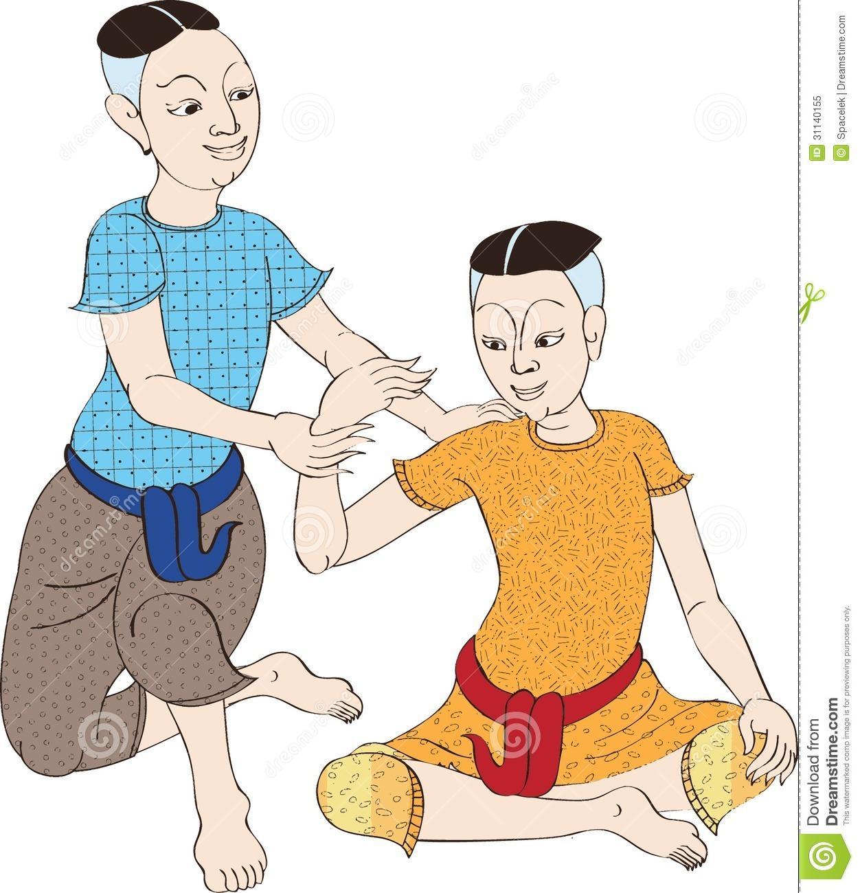 Thai Massage Clipart (45+).