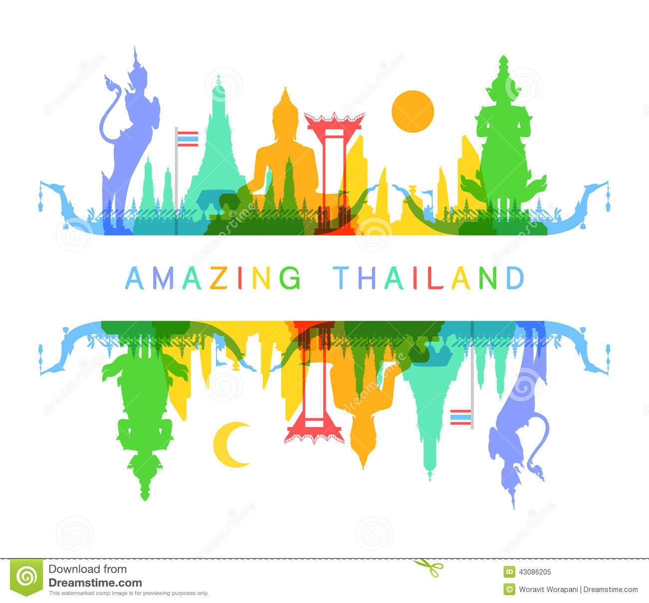 Thailand Stock Illustrations.
