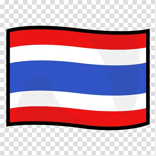 Flag of Thailand Emoji Regional Indicator Symbol, flag of.