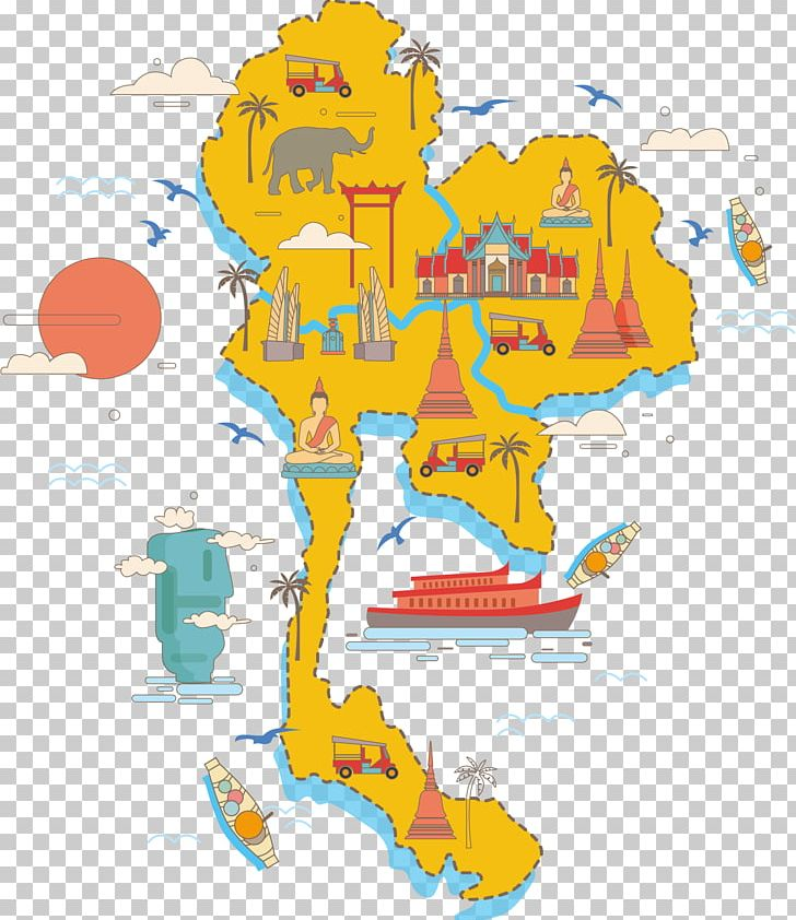 Thailand Map Poster PNG, Clipart, Abroad, Africa Map, Area.