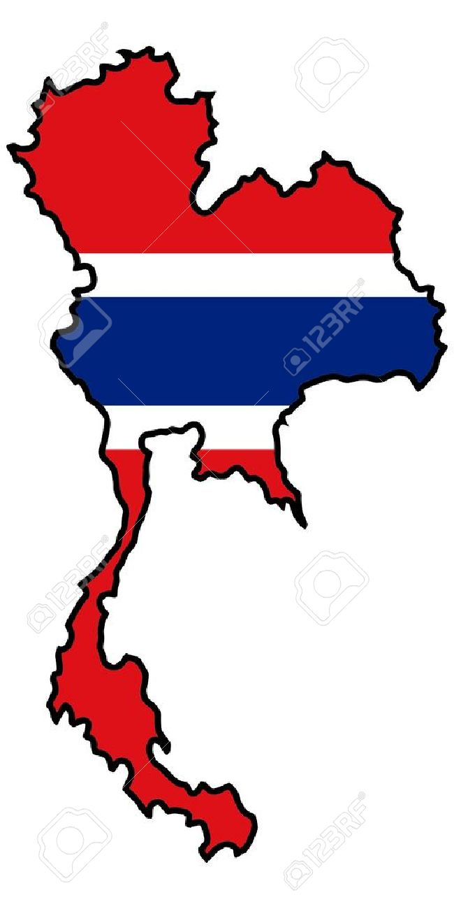 Thailand map clipart 6 » Clipart Station.