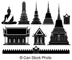 Thailand temple Clipart Vector and Illustration. 1,507 Thailand.