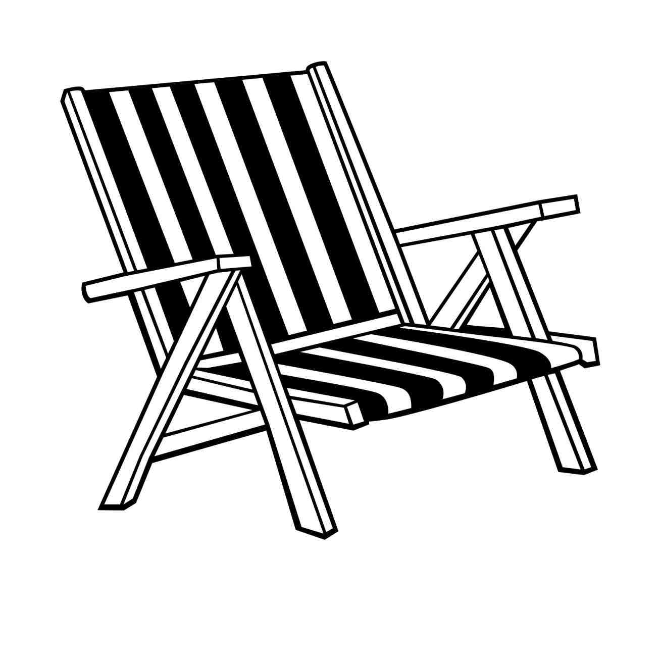 Chair Clipart. chair clipart black and white rocking chair.