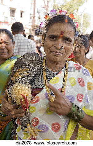 Pictures of A rural woman with cock for sale ; Virar ; Tal. Vasai.