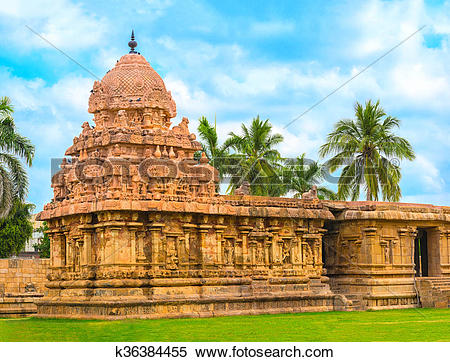 Stock Image of Hindu Temple dedicated to Shiva, ancient.