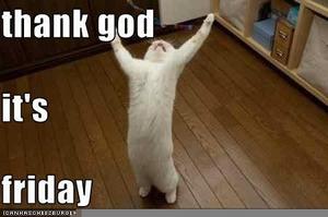 Thank God Its Friday Clipart.