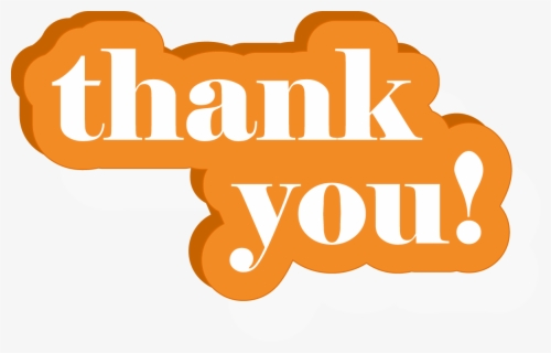 Free Thank You Clip Art with No Background.
