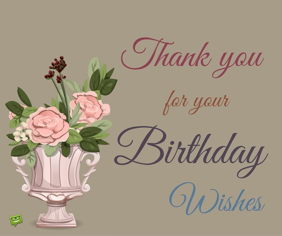 Thank you with retro clip art of a vase.