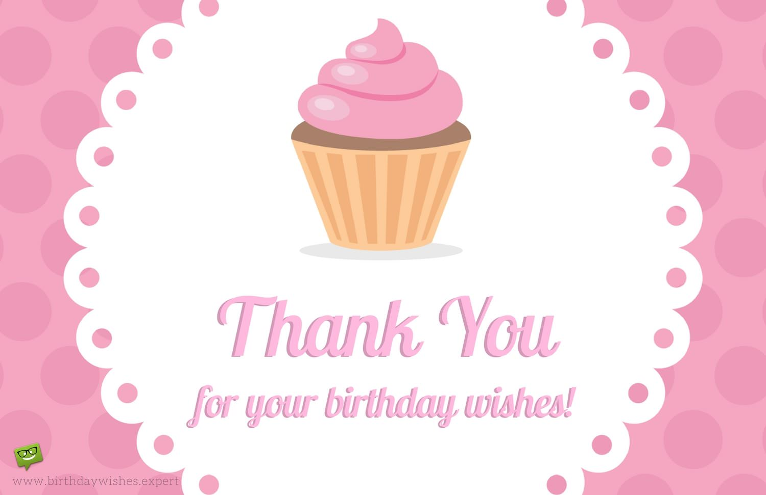 Thank You for the Birthday Wishes!.