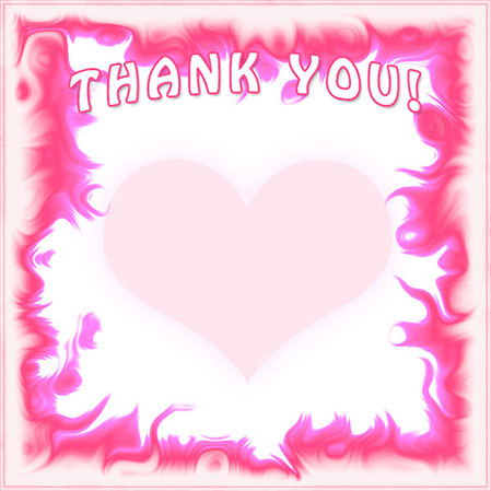 Thank you border clipart 5 » Clipart Station.
